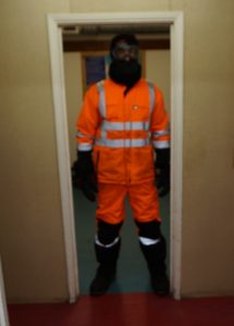 Dressed for nightwatch