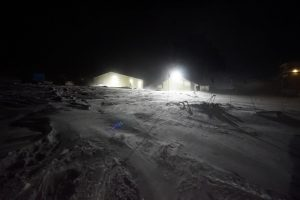 Blowing Snow at Colditts
